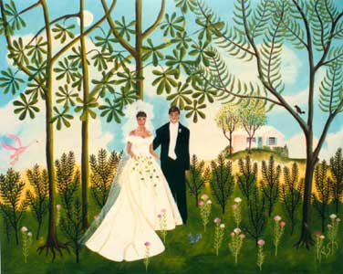 Wedding of Maria and Fritz by Karen Hudson